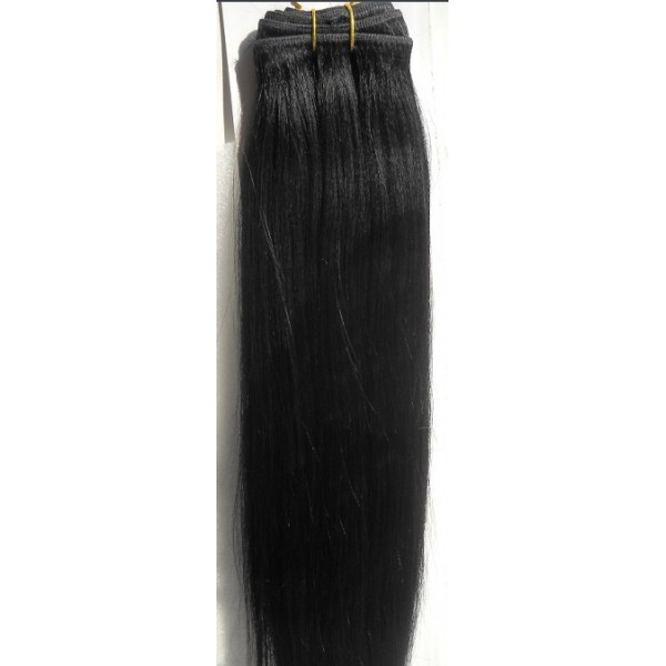 Human Hair Weft Weave 90