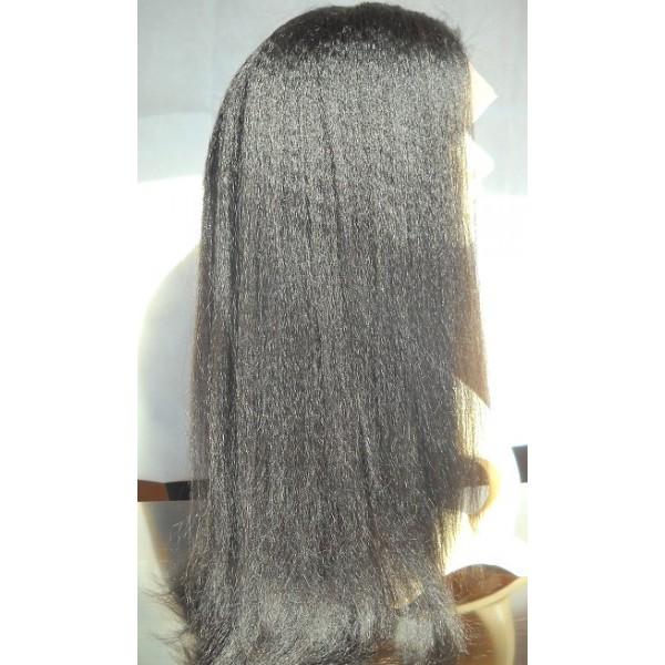 Glueless lace front silk top wig with baby hair and bleached knots 79997955c6f5