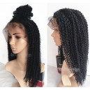 Indian remy human Hair Jerry Curl full lace wig-bw0025