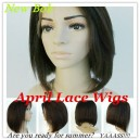 Indian Remy Full Lace Silk Top Wig With BOB Style-BB002