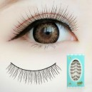 10 Pairs Handmade black natural looking False eyelashes S-316
