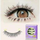 5 Pairs Handmade Black upper False eyelashes S-252