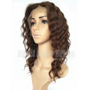 indian remy hair deep wave silk top full lace wig on sale 12942-1