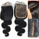 body wave 4x5 silk top closure 12121-2