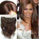 Color 4 brown straight hair lace frontal 13943 5-1