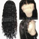Malaysian virgin human hair loose deep wave 360 frontal wig -BW0730