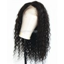 Brazilian virgin deep wave glueless 360 wig BW6230