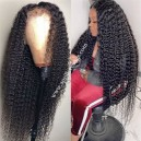Brazilian virgin human hair jerry curly 360 lace wig BW2115