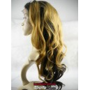 Chinese virgin beyonce wave glueless full lace wig silk top-bw1101
