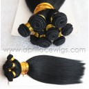 hand tied wefts-100% human bulk hair wefts/weaving
