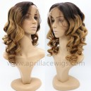 Chinese Virgin yaki body wave Silk top Full lace wig BW5546