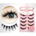 5 Pairs Handmade Black False eyelashes S-118