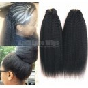 Indian remy italian yaki human hair wefts 2 bundles-IYW02