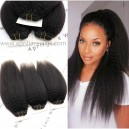 Indian remy italian yaki human hair wefts 3 bundles-IYW03