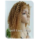 chinese virgin human hair special Curly full lace wig-bw0035