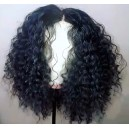 Beautiful Tight Spiral Curl Malaysian virgin 360 Wig--BW0170