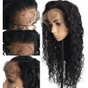 Malaysian virgin wavy glueless 360 wig --BW0770
