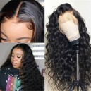 Brazilian virgin Loose deep curly glueless 360 wig--BW0760