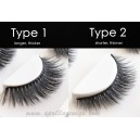 3D black natural professional makeup fashion eyelashes 3 Pairs Set S020