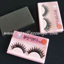 Thick Mink false eyelashes with rhinestone for party or cosplay S-032