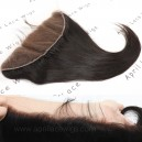 HD thin lace virgin hair silk straight 13x4 frontal HF11