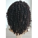 malaysian  virginkinky curl  glueless full lace wig without silk top --SKU:GN-004