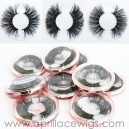 Wholesale custom box human made 5D Mink Eyelashes many types available