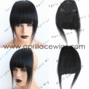 Virgin hair straight texture Chinese bangs   BS01