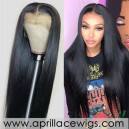 Virgin human hair glueless 370 lace wig BW2101