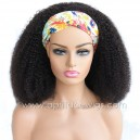 Headband Wigs 3c Curl Brazilian Virgin Hair Wigs For Black Women HBW23
