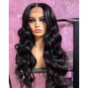 【Clearance】Virgin Human Hair 150% density Silk Top Closure Wig BW3333