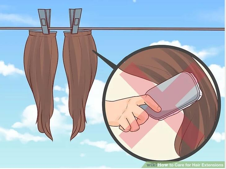 8 Tips How To Care For Your Human Hair Extensions April Lace Wigs