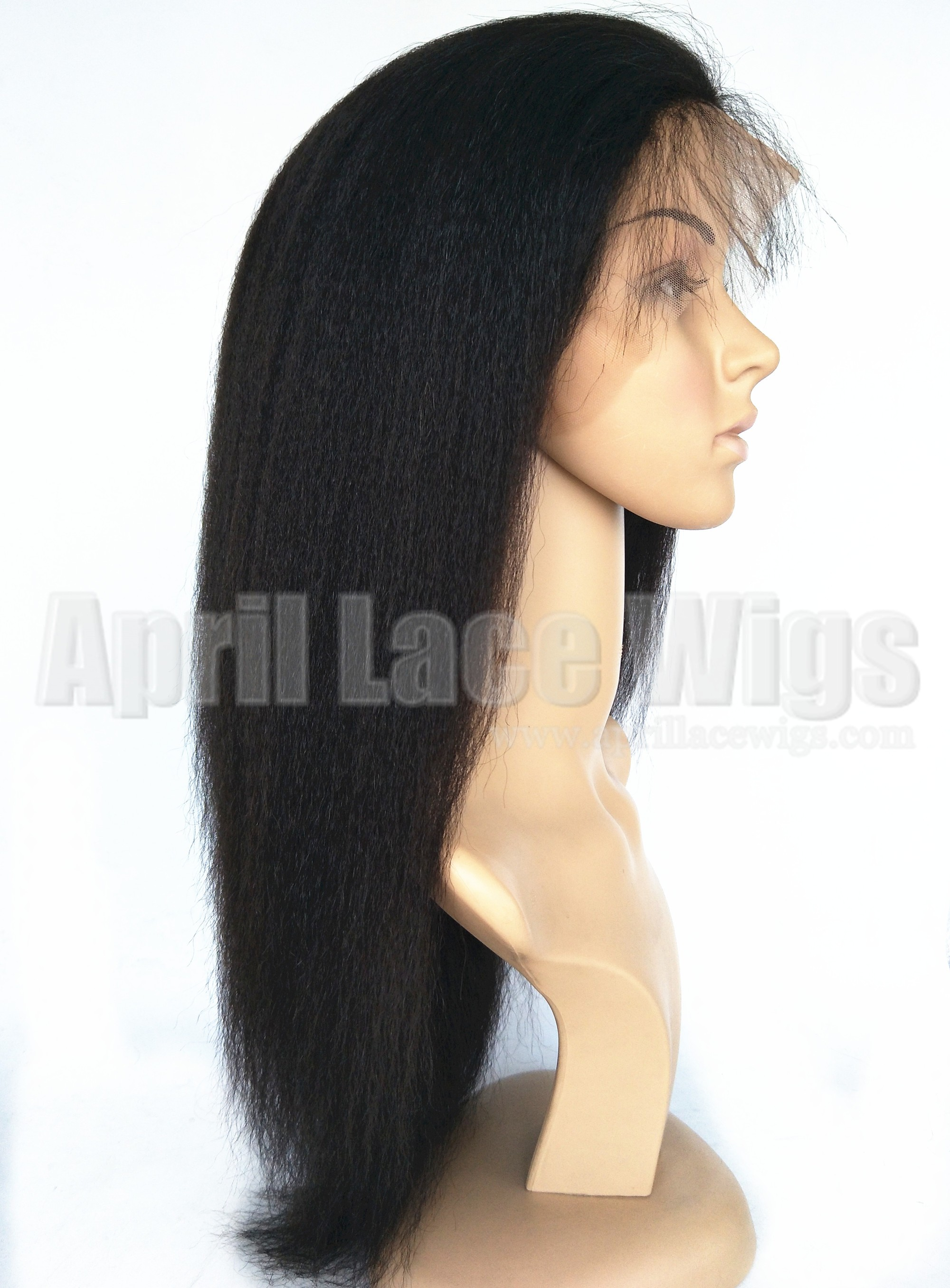italian yaki lace front wig