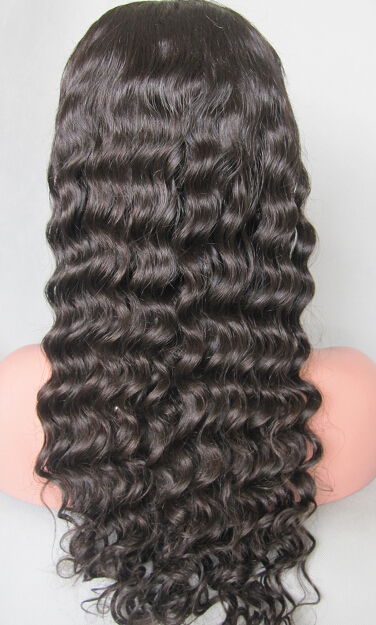 Chinese virgin full lace wigs