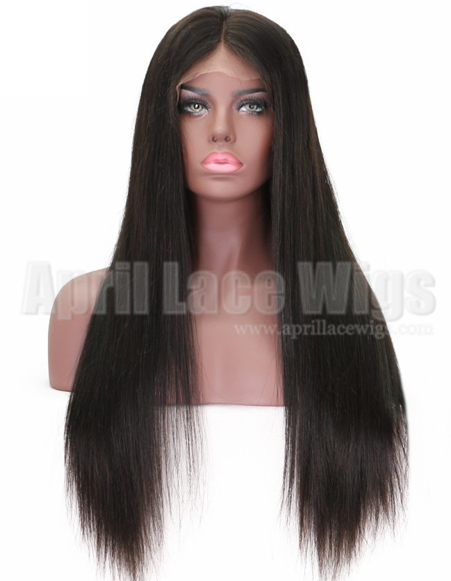 Chinese virgin silky straight hair full lace wigs for black women