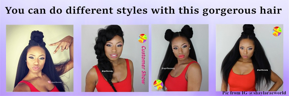 italian yaki full lace wig glueless silk top wig