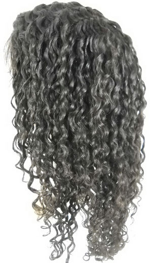 6mm curly full lace wigs