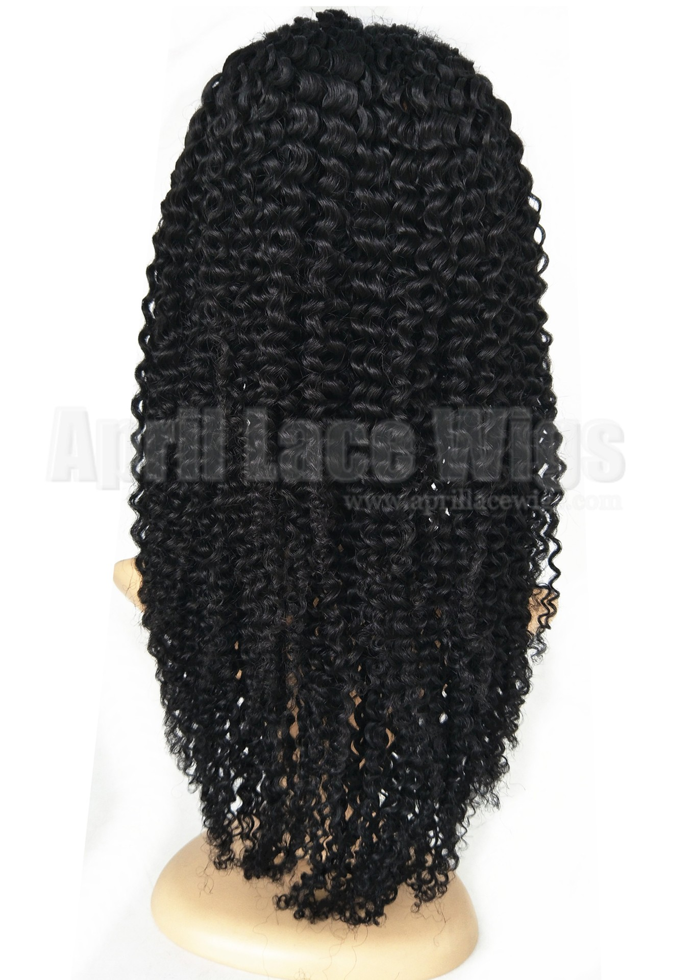 Jerry curl lace front wig for black women