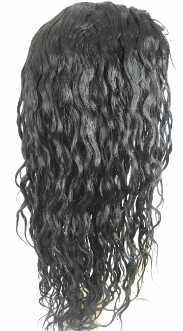 14mm curly full lace wig