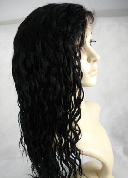 curly 14mm full lace wig