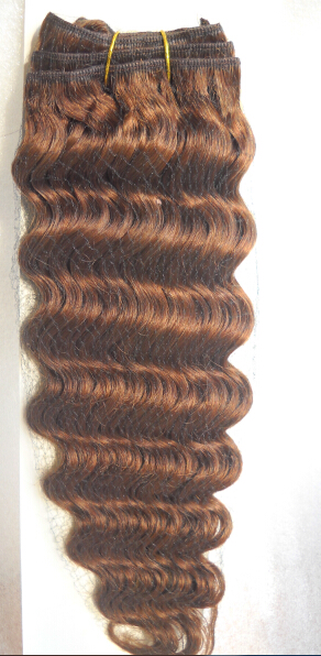 human hair weft 16inches #4