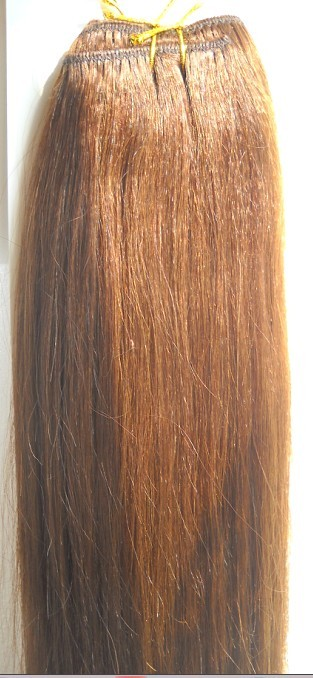 Yaki straight human hair extensions