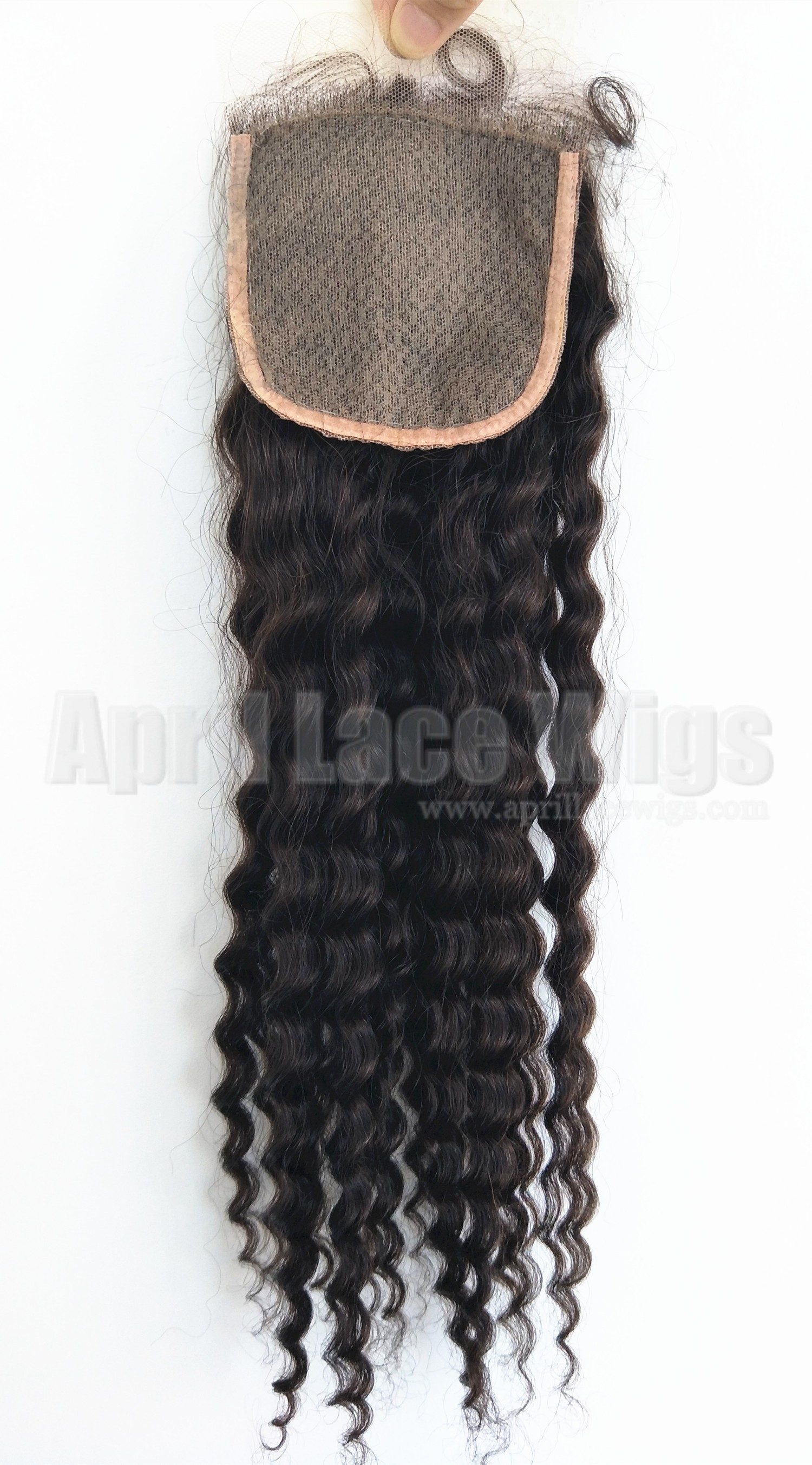 deep wave silk top closure 6mm curl