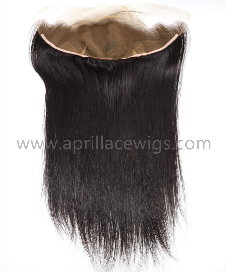 Silk straight lace frontal