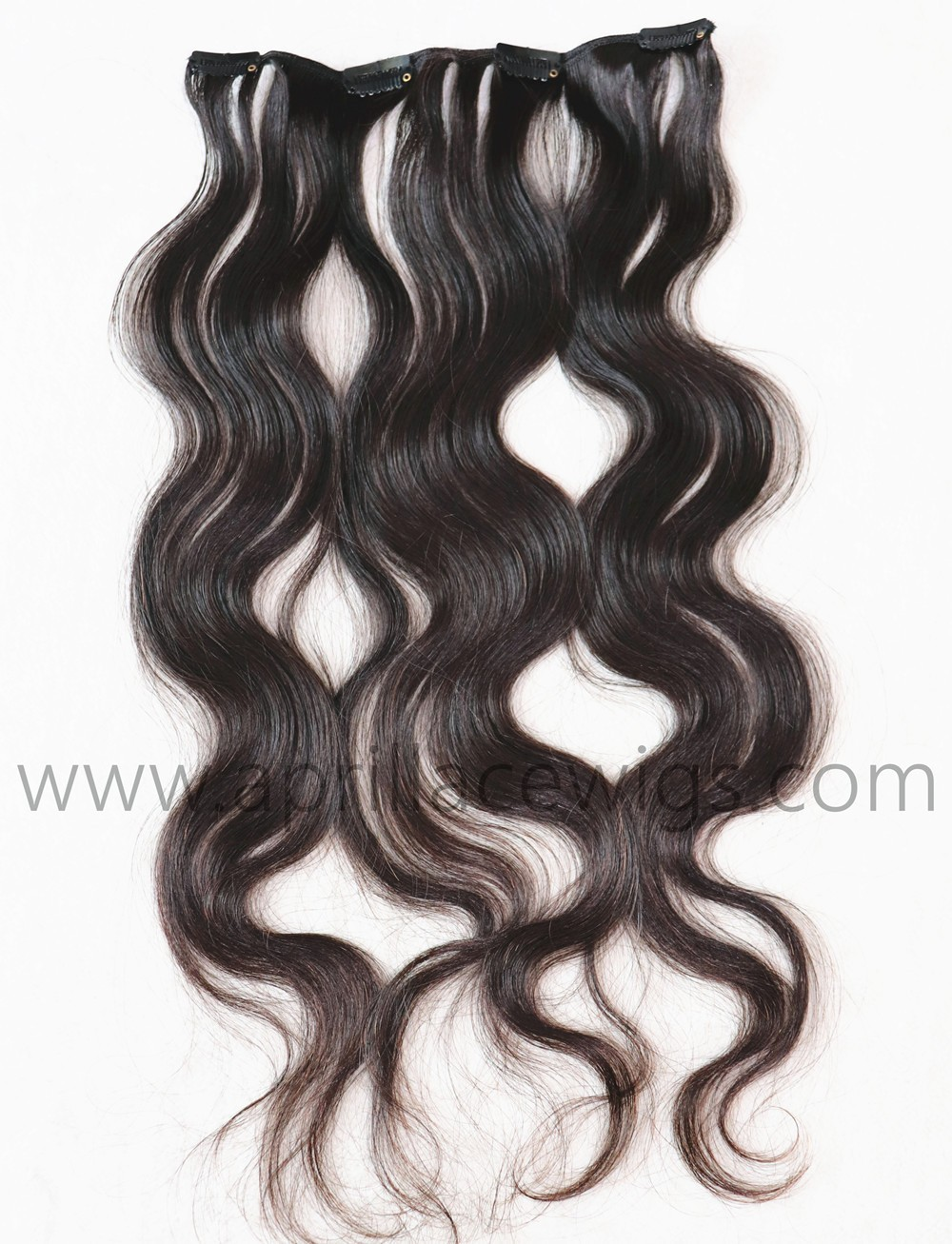 body wave clip in extensions, ody wave hair weaving