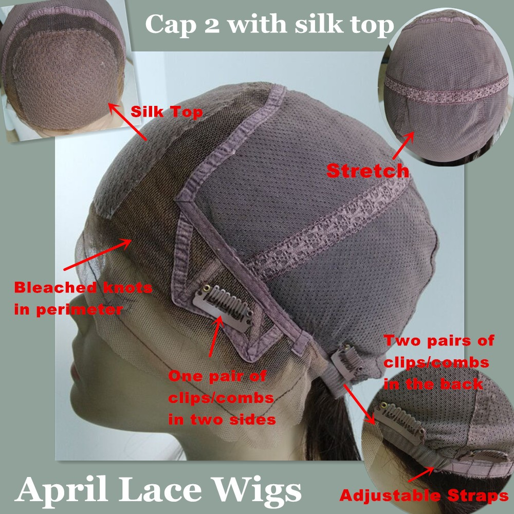 Glueless full lace wig cap construction