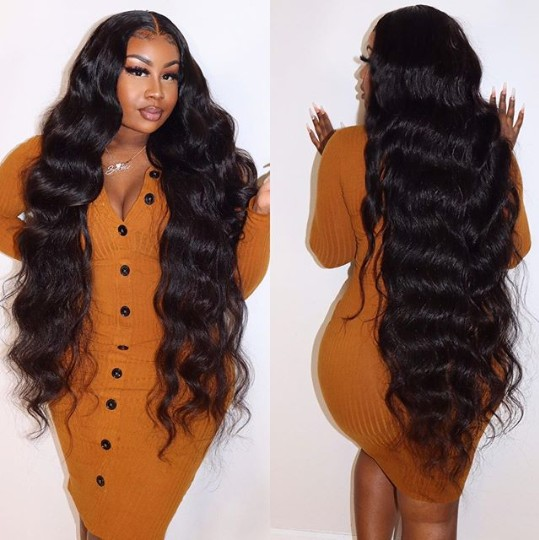 long wave lace wig glueless full lace wig