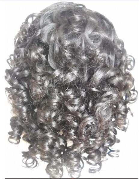 Spain curl lace wigs