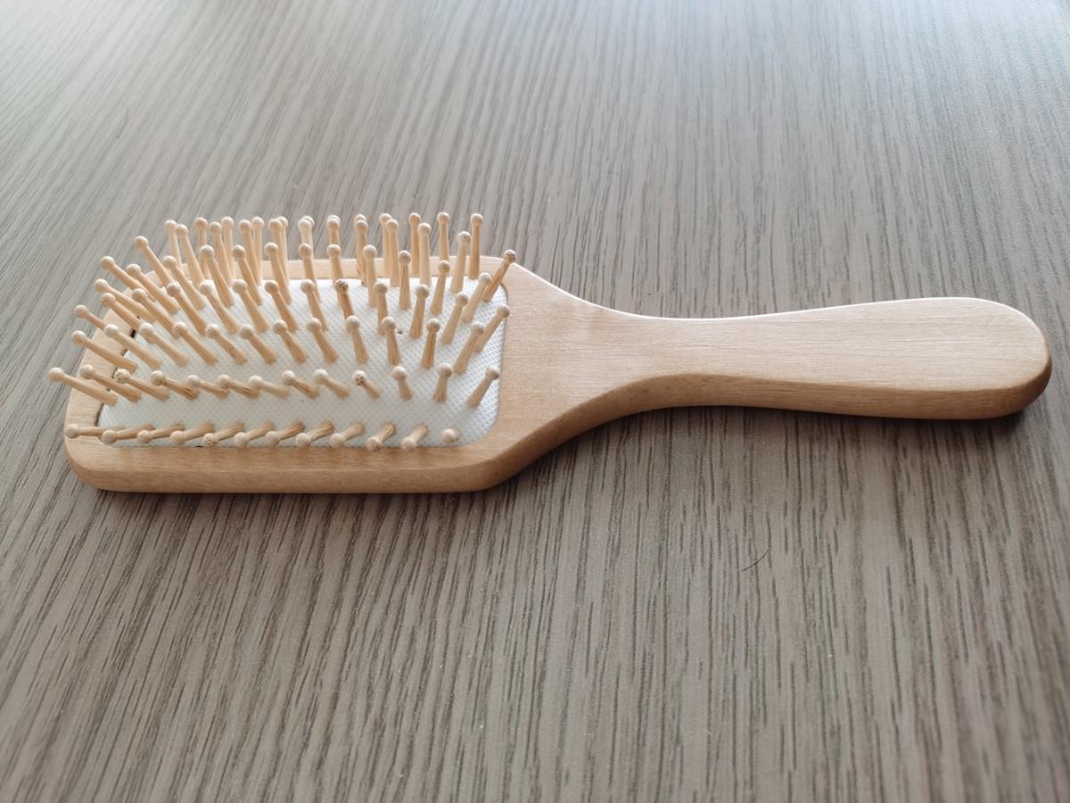 wooden wig brush hair brush