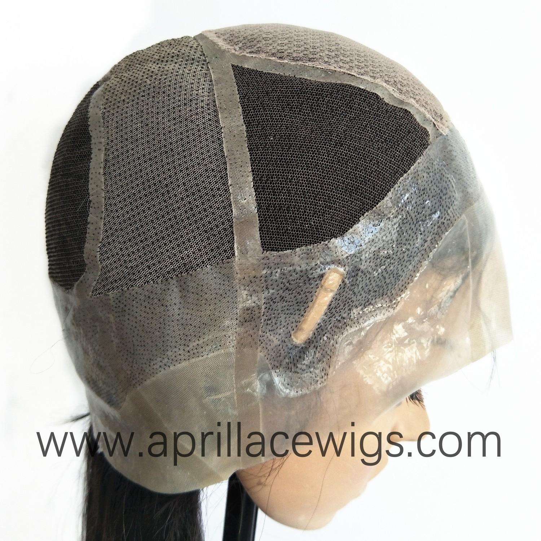 glueless silicone wig virgin human hair